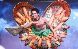 Trong khi khán giả Việt Nam tranh cãi, fan thế giới lại ủng hộ trang phục bánh mì của H'Hen Niê