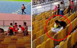 Bị loại cay đắng khỏi AFF Cup, fan Myanmar vẫn để lại hình ảnh đáng trân trọng