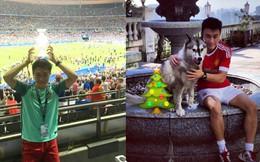 Con trai của vua sòng bài Macau: Đẹp trai như tài tử, có cuộc sống vương giả và mê mẩn Ronaldo