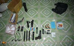 Bắt hai nghi 2 phạm chuyên mua bán vũ khí trái phép