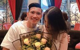 Được xả trại, Đoàn Văn Hậu và cô bạn gái hotgirl 1m58 'dính với nhau như sam'