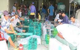 Nhộn nhịp Làng nghề đan lưới Thơm Rơm mùa nước lũ