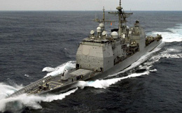 Tàu tuần dương Mỹ tới gần Hoàng Sa thách thức Trung Quốc