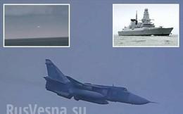 Hải quân Anh choáng váng trước cuộc tập kích mô phỏng của 17 máy bay Nga vào khu trục hạm Duncan