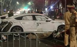 Ai là người cầm lái xe Audi va chạm với xe máy khiến 3 người thương vong tại Hà Nội?