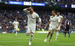 """Toát mồ hôi lạnh, rốt cuộc Real Madrid cũng thoát cơn """"mê sảng"""" đầy may mắn"""
