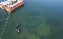 Bí mật nhà thờ 1.600 tuổi nằm dưới đáy hồ Thổ Nhĩ Kỳ