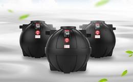 Bể phốt kiểu mới, giảm nguy cơ nước thải thấm ngược vào bể nước sinh hoạt