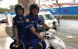 Xe tay ga 125 phân khối sẽ được dùng làm phương tiện cấp cứu ở Sài Gòn