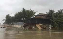 Cận cảnh bãi biển đẹp nhất hành tinh sạt lở kinh hoàng sau trận mưa lịch sử ở Đà Nẵng