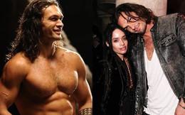 """Siêu anh hùng """"Aquaman"""": Cao 2m, điển trai, cơ bắp cuồn cuộn vẫn mê mẩn vợ hơn 12 tuổi"""