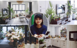 """Chán căn hộ cũ, cô gái trẻ mạnh dạn tự cải tạo, biến căn hộ thành """"khu vườn"""" trong lành"""