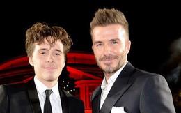Brooklyn già trước tuổi và nhạt nhòa khi đứng cạnh bố Beckham quá điển trai