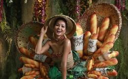 """Báo Mỹ chỉ đích danh bộ Bánh mì của H'Hen Niê là một trong những trang phục """"dị"""" nhất Miss Universe 2018"""