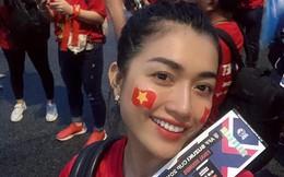Á hậu Lệ Hằng bức xúc, quay lại cảnh cổ động viên Việt Nam có vé nhưng không được xem trận đấu