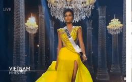 Cận cảnh màn trình diễn trang phục dạ hội như siêu mẫu của H'Hen Niê tại bán kết Miss Universe 2018