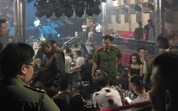 Gần 80 nam thanh, nữ tú phê ma túy trong quán bar ở Sài Gòn