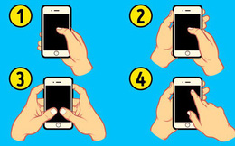 """Đâu là kiểu cầm điện thoại ở người có """"bản lĩnh ngút trời""""? – Chọn và xem kết quả"""