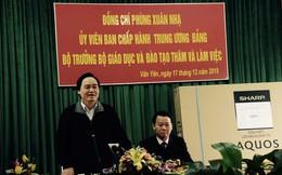 Bộ trưởng GDĐT đau lòng trước vụ xâm hại tình dục học sinh ở Phú Thọ