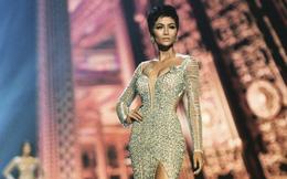Mẹ nuôi bật khóc, tiết lộ điều đặc biệt về chiếc váy thi CK Hoa hậu Hoàn vũ của H'Hen Niê