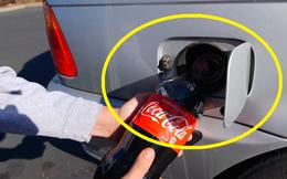 Chuyện gì sẽ xảy ra khi đổ Coca-Cola vào bình xăng của ô tô?