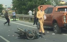 Tông ôtô đỗ ven cao tốc, 2 nam thanh niên tử vong tại chỗ
