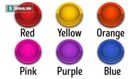 Nếu được ấn nút làm tươi mới cuộc sống, bạn chọn màu gì, đáp án tiết lộ điều thú vị về bạn