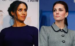 """Tiết lộ gây sốc về việc Công nương Kate """"hiềm khích"""" với em dâu Meghan xuất phát từ """"người thứ ba"""" không ngờ đến"""