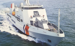 """Tàu tuần tra cỡ lớn Made in Vietnam """"tả xung hữu đột"""": Thần tốc tiến ra nước ngoài"""