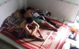 Hai chàng trai, một cô gái cùng nằm trên chiếc giường, câu chuyện bên lề khiến nhiều người bức xúc