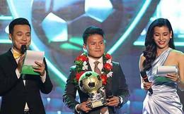 """Nữ MC bị """"ném đá"""", chê vô duyên khi đẩy cầu thủ Anh Đức, Quang Hải vào tình thế khó xử nói gì?"""