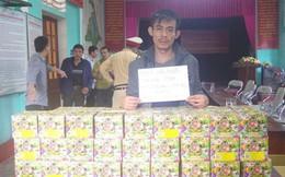 Mang 63 kg pháo từ Quảng Bình ra Hà Tĩnh tiêu thụ