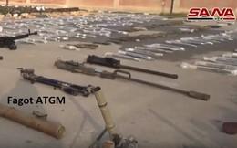"""Quân đội Syria thu giữ kho vũ khí lớn: Có """"bàn tay đen"""" của Mỹ"""