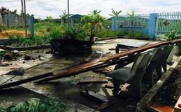 9 đối tượng ném mìn sập cổng nhà dân trong đêm để đòi nợ