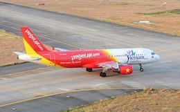 Máy bay Vietjet lại gặp sự cố khi đang tăng tốc cất cánh ở Nội Bài