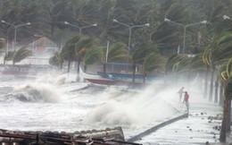 Áp thấp sẽ mạnh lên thành bão, tăng tốc giật cấp 10 hướng về Nam Bộ