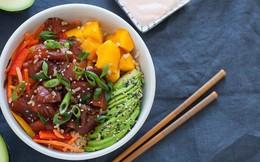 """Poke: Kết quả mối tình hơi """"ngang trái"""" của ẩm thực Mỹ và Nhật, lai lai giữa salad và sushi"""