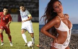 Nhan sắc bốc lửa của siêu mẫu là bạn gái đội trưởng tuyển Philippines tại AFF Cup 2018