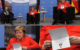 """G20: Tranh thủ """"ôn bài phút chót"""", bà Merkel gây sóng gió chính trường Australia"""