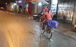 Mưu sinh giữa đêm lạnh dưới 10 độ C của Hà Nội