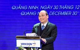 Thủ tướng bấm nút khánh thành sân bay Vân Đồn