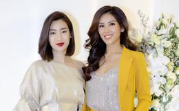 Đỗ Mỹ Linh đẹp kiêu sa, Á hậu Trà My nóng bỏng đến chúc mừng Nguyễn Thị Loan