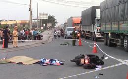 Nam nhân viên bất động sản bị xe tải ôm cua cán chết thương tâm