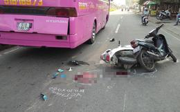 Va chạm liên hoàn, nam thanh niên bị ô tô chèn qua người nguy kịch ở Sài Gòn