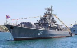 """[ẢNH] Dàn tàu chiến cực mạnh của Hạm đội Biển Đen sẵn sàng """"đón tiếp"""" hải quân NATO"""