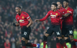 Vòng 15 Premier League 2018/19: Man United 2-2 Arsenal