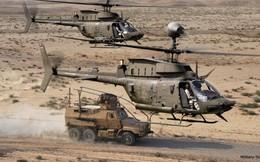 """Ảnh: Trực thăng """"Chiến binh"""" trinh sát OH-58D Kiowa của quân đội Mỹ"""