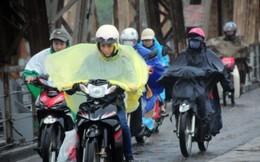 Không khí lạnh tràn về khiến miền Bắc có mưa, trời rét đậm, có nơi xuống 9 độ C