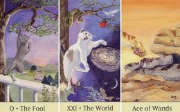 Rút một lá bài Tarot Mèo để biết may mắn nào sẽ gõ cửa nhà bạn trong tuần tới