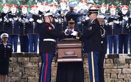 Cận cảnh lễ chôn cất cố Tổng thống George H.W. Bush
